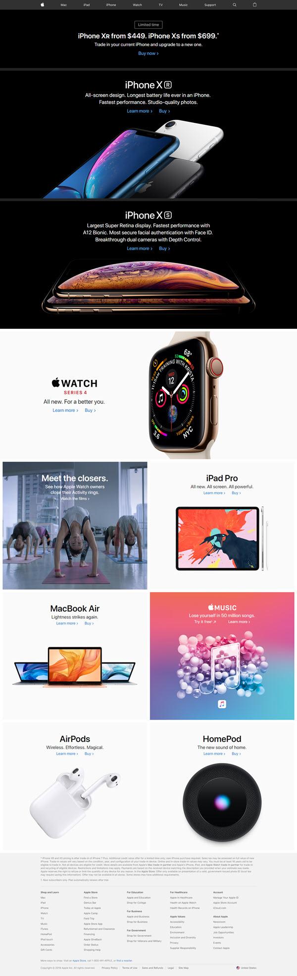 apple site- اسکن توسط کسبنت